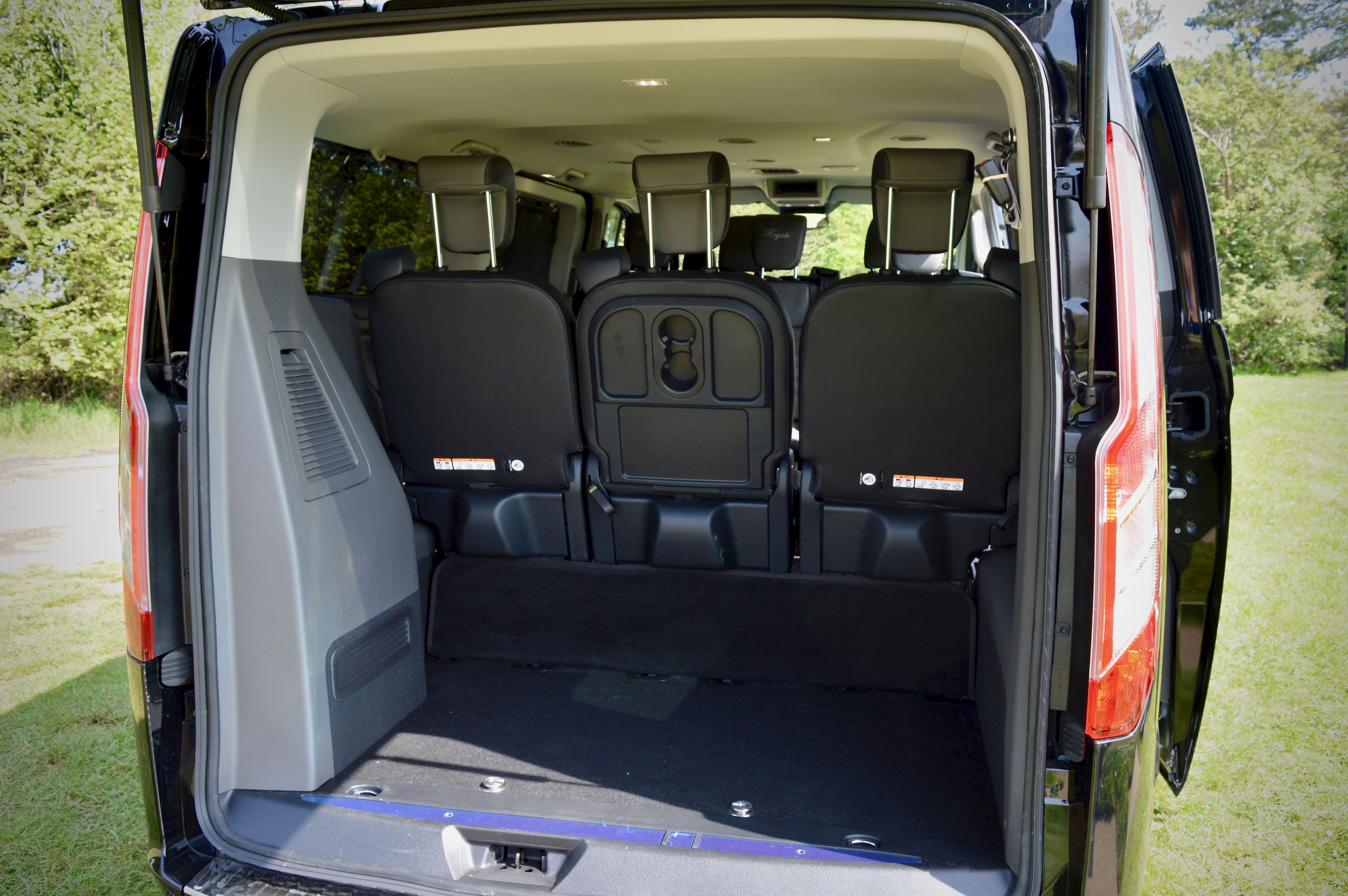 Lots of space within the boot for luggage, great for airport transfers