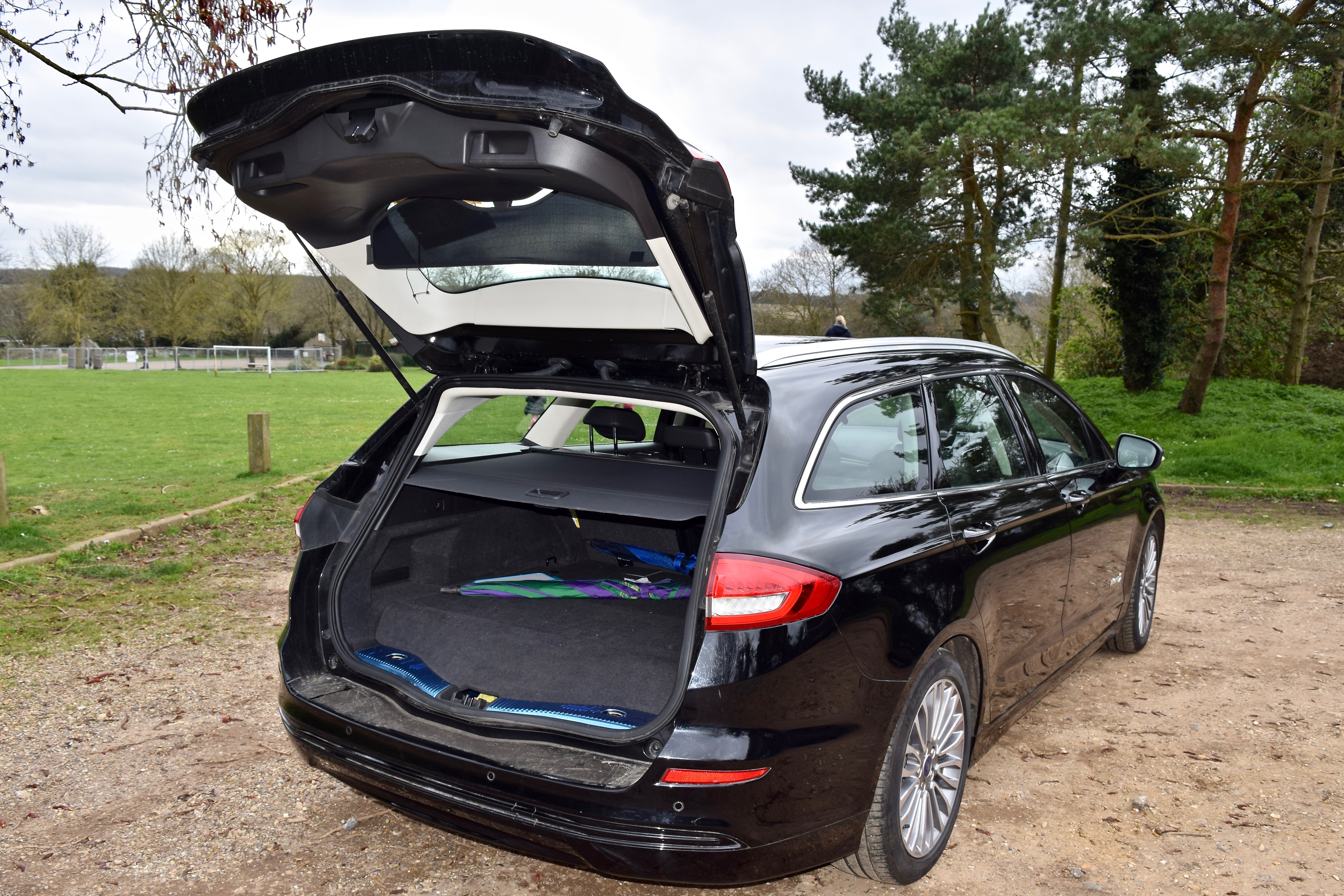 Boot space within the Ford Mondeo Hybrid