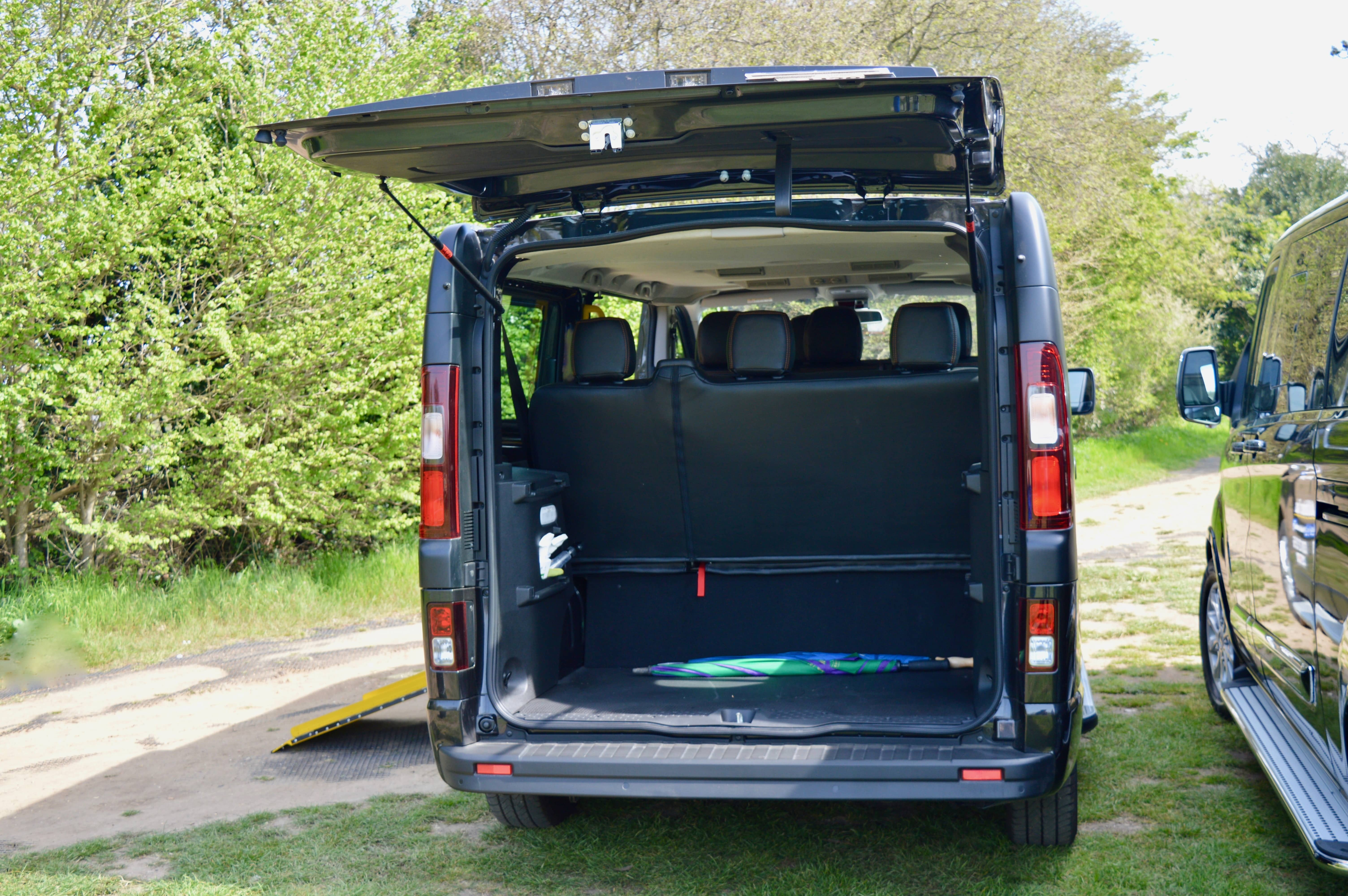 Plenty of boot space for luggage, perfect for airport transfers